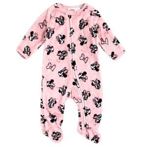 Minnie Mouse Baby Girls Fleece Wobbie Sleeper. Pnk